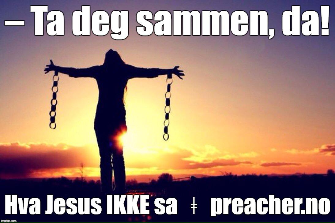 jesus og vår egen tid