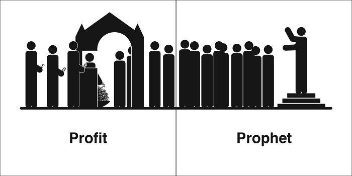 Profitterende profeter (profiteering prophets)