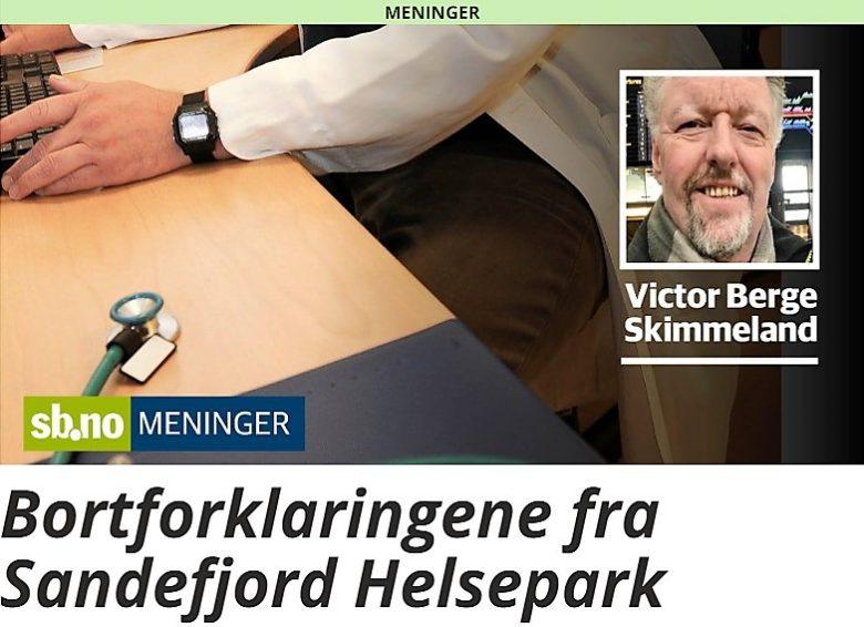 Bortforklaringene fra Sandefjord Helsepark