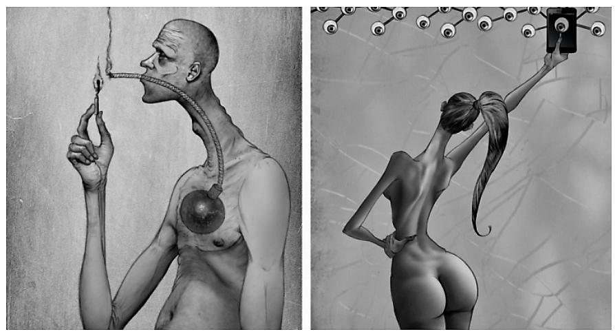 Disse 15 illustrasjonene forteller deg hva som er galt med samfunnet vårt