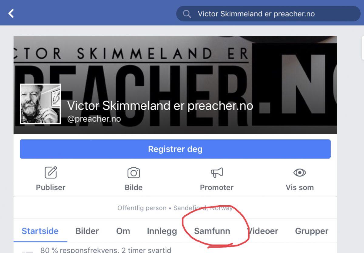 Partner-info: Inviter dine venner til LIK og FØLG på Facebook