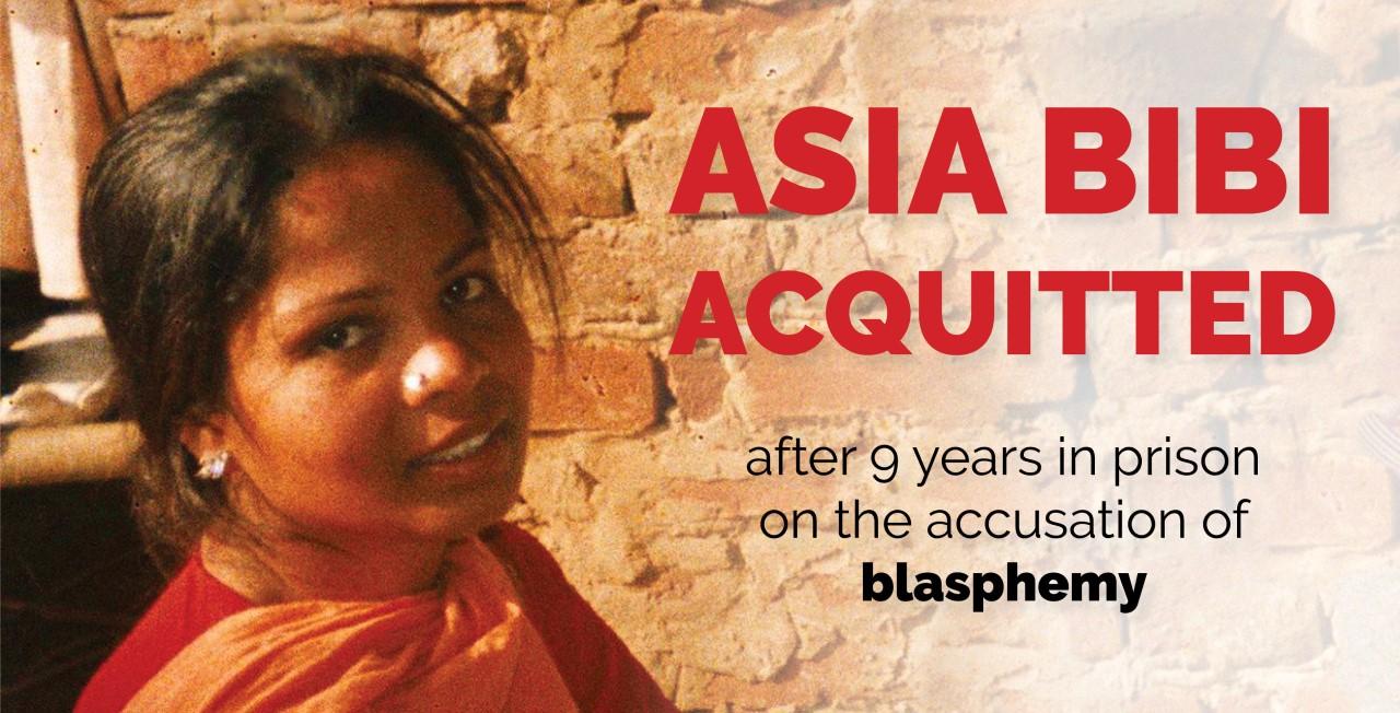 Asia Bibi slipper endelig ut