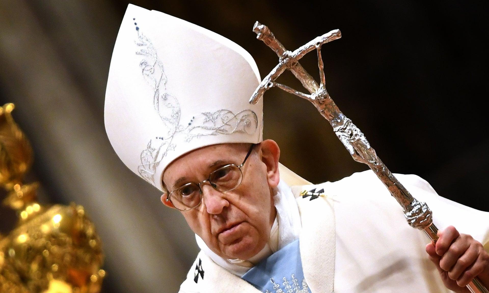 Paven kritiserer amerikanske biskoper som ikke håndterer kirkens mange overgrep