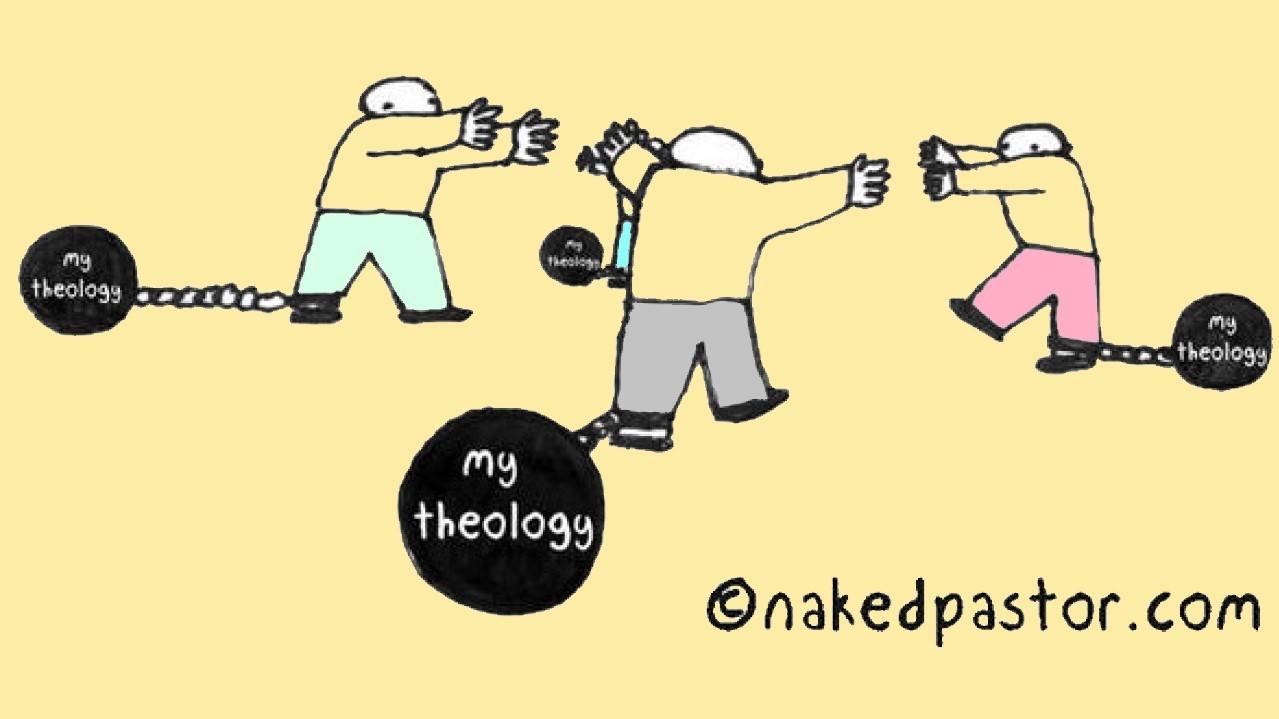 Theology divides