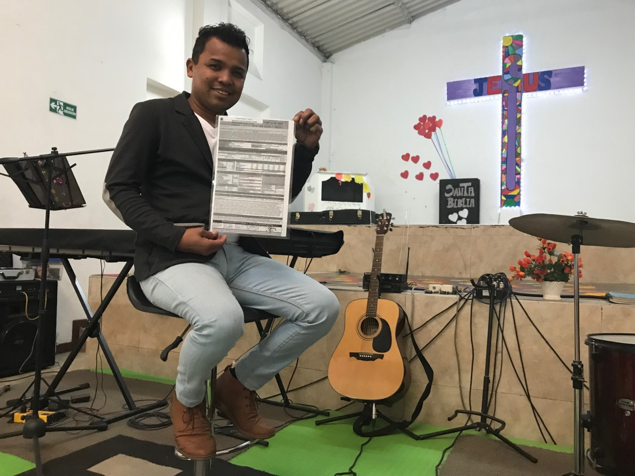 The Children's Church in Bogotá: At last, building permit secured